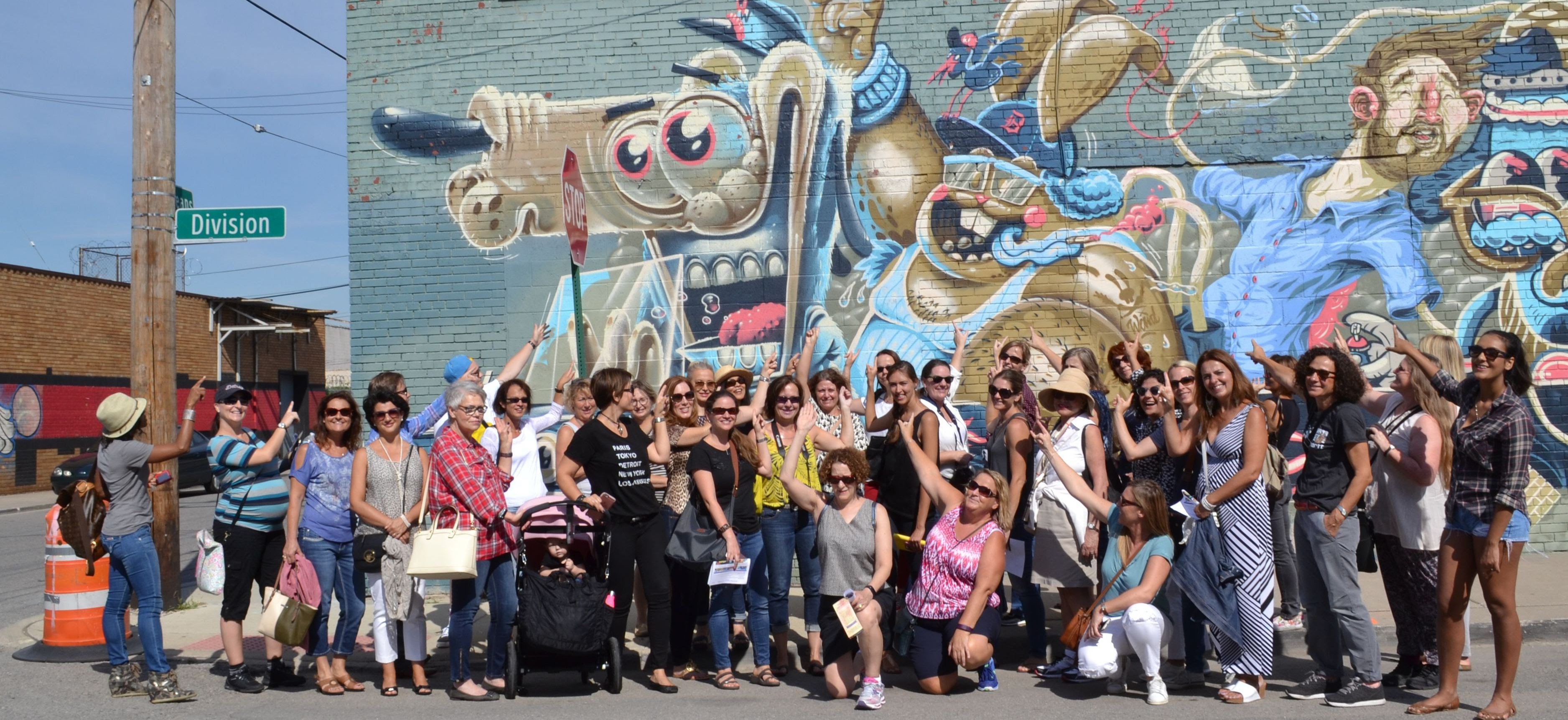 Venturing Out Murals in the Market