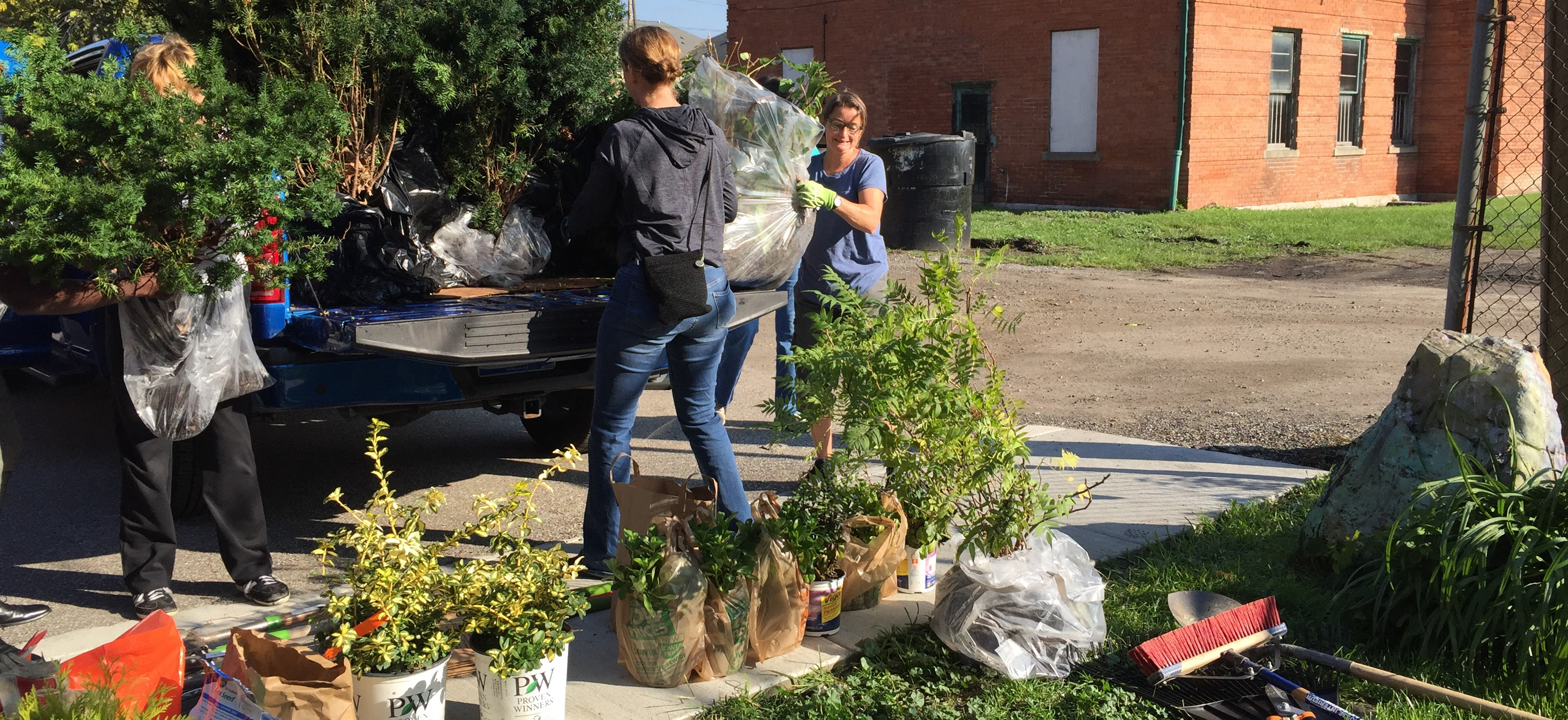 Community Service at the Freedom House